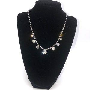 Nine West Rhinestone Necklace Choker